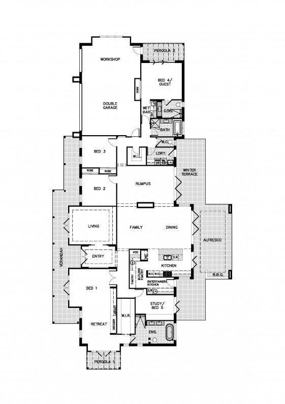 Display Floor Plan