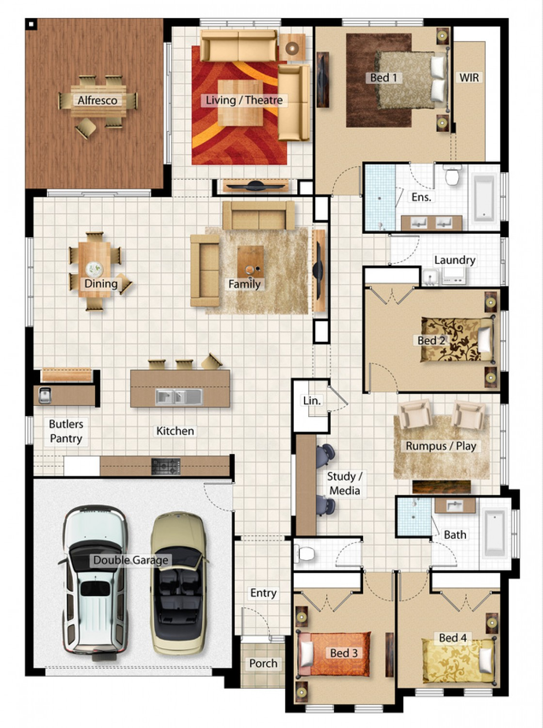 Daintree Floor Plan