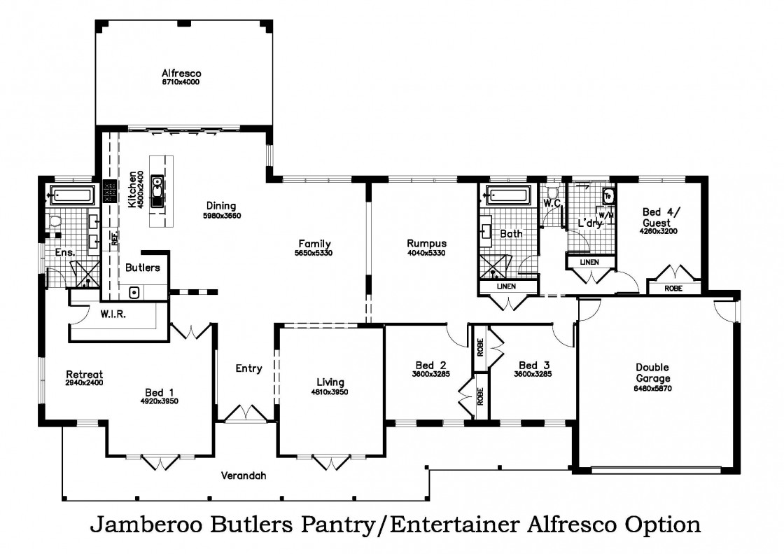 Butler/Entertainer Alfresco Option