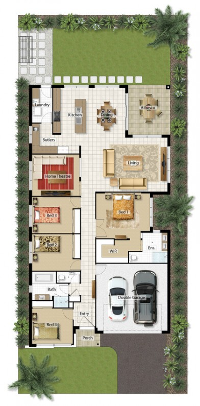 Floor Plan 25.7sq