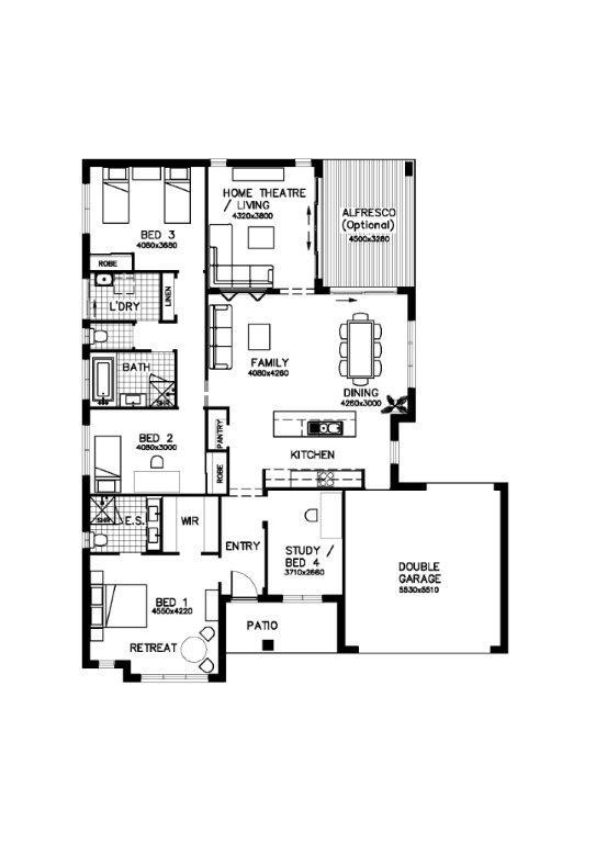Stoneleigh barrington homes for Barrington floor plan